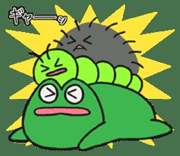 Kerokichi and friends sticker #3243682