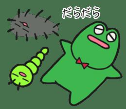 Kerokichi and friends sticker #3243698