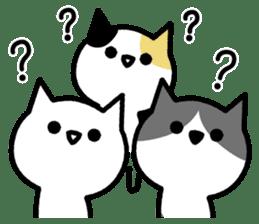 Bad bad cats sticker #3250155