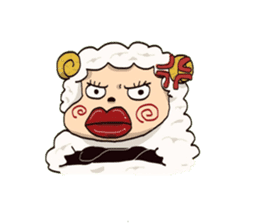 Maria of the sheep sticker #3269490