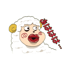 Maria of the sheep sticker #3269494