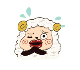 Maria of the sheep sticker #3269514