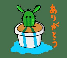 I am  a cactus sticker #3270131