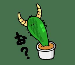 I am  a cactus sticker #3270142