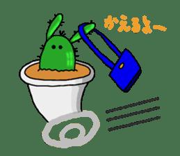 I am  a cactus sticker #3270148
