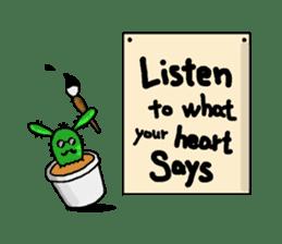 I am  a cactus sticker #3270149