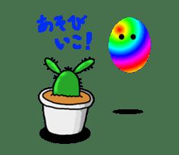 I am  a cactus sticker #3270150