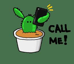 I am  a cactus sticker #3270156