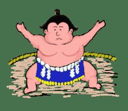 Sumo wrestler Koshimazu sticker #3271247
