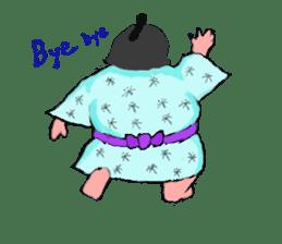 Sumo wrestler Koshimazu sticker #3271253