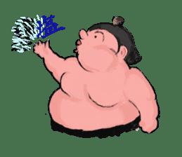 Sumo wrestler Koshimazu sticker #3271260