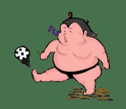 Sumo wrestler Koshimazu sticker #3271262
