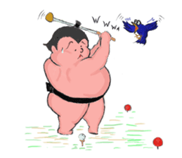Sumo wrestler Koshimazu sticker #3271264