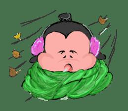 Sumo wrestler Koshimazu sticker #3271274