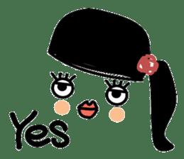 expressionless girls sticker #3271988