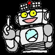 สติ๊กเกอร์ไลน์ robota teacher effort report