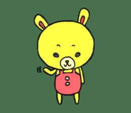 JAMIE THE HAPPY BEAR sticker #3273450