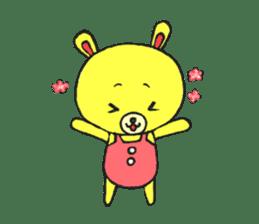 JAMIE THE HAPPY BEAR sticker #3273451