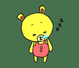 JAMIE THE HAPPY BEAR sticker #3273452