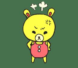 JAMIE THE HAPPY BEAR sticker #3273453