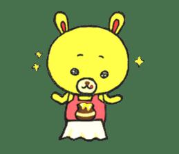 JAMIE THE HAPPY BEAR sticker #3273460