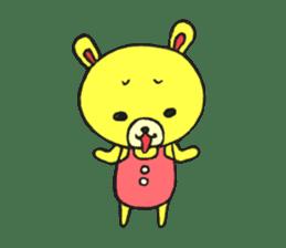 JAMIE THE HAPPY BEAR sticker #3273462