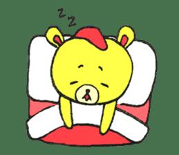JAMIE THE HAPPY BEAR sticker #3273463