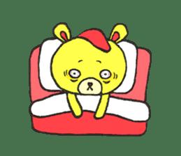 JAMIE THE HAPPY BEAR sticker #3273464