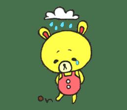JAMIE THE HAPPY BEAR sticker #3273468