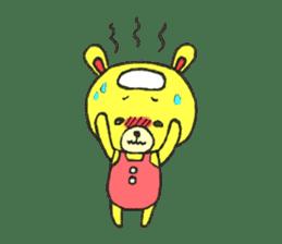 JAMIE THE HAPPY BEAR sticker #3273469