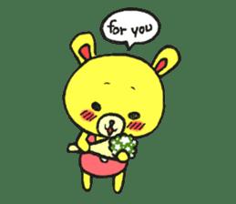 JAMIE THE HAPPY BEAR sticker #3273470