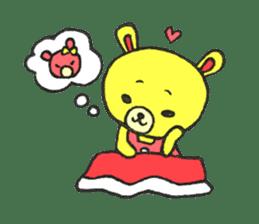 JAMIE THE HAPPY BEAR sticker #3273471