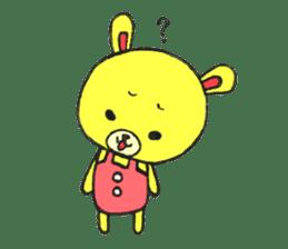 JAMIE THE HAPPY BEAR sticker #3273476