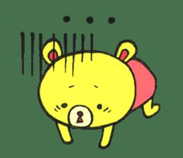 JAMIE THE HAPPY BEAR sticker #3273477