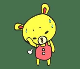 JAMIE THE HAPPY BEAR sticker #3273478