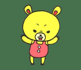 JAMIE THE HAPPY BEAR sticker #3273480