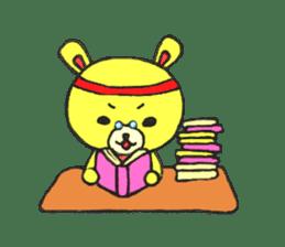 JAMIE THE HAPPY BEAR sticker #3273483