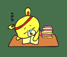JAMIE THE HAPPY BEAR sticker #3273484