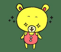 JAMIE THE HAPPY BEAR sticker #3273485