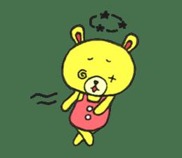 JAMIE THE HAPPY BEAR sticker #3273486