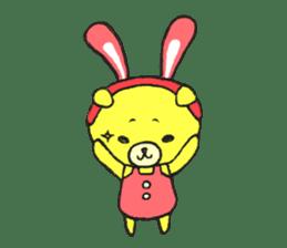 JAMIE THE HAPPY BEAR sticker #3273489