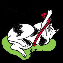 Ukiyohe Cat