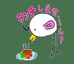 bird cries sticker #3278887