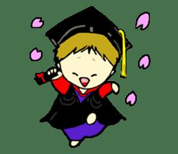 eiji graduates sticker #3280272