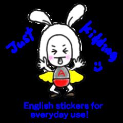 Ady Ranger - cute English stickers