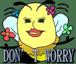 A sexy bee sticker #3287736