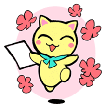 Lei Cat II 'Studing and working' Type E sticker #3293399