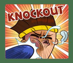 Fahlun -Thai boxer sticker #3306116