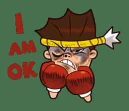 Fahlun -Thai boxer sticker #3306117