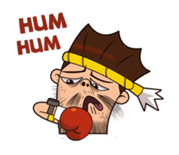 Fahlun -Thai boxer sticker #3306121